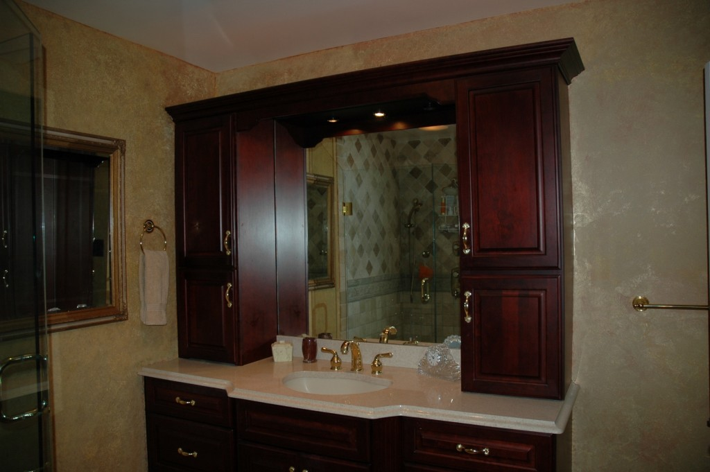 The Cabinet Gallery in Stuart, FL can design and install the custom bathroom of your dreams at an affordable price.