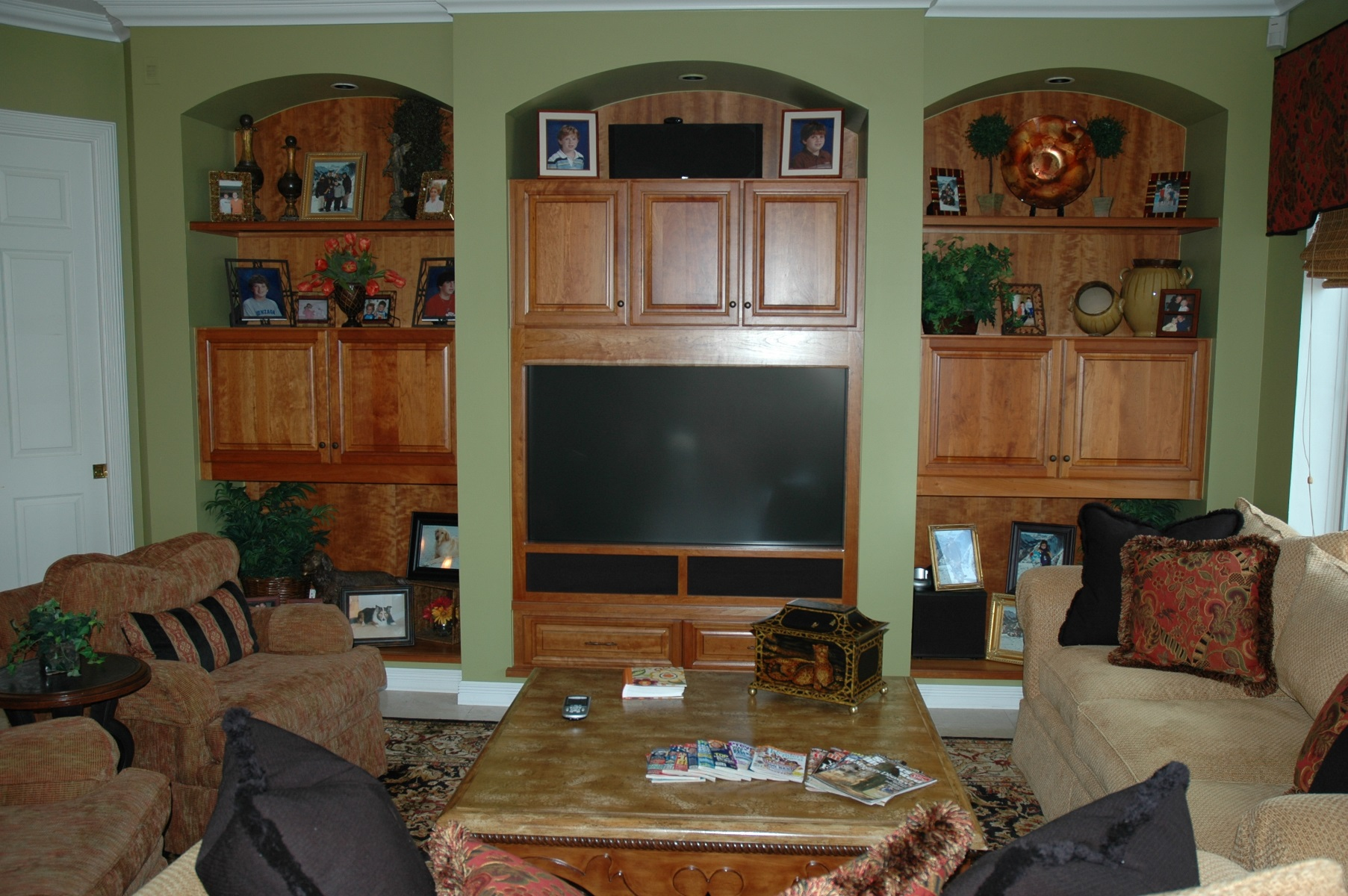 The Cabinet Gallery In Stuart, FL Can Design And Install The Custom  Entertainment Center Of ...