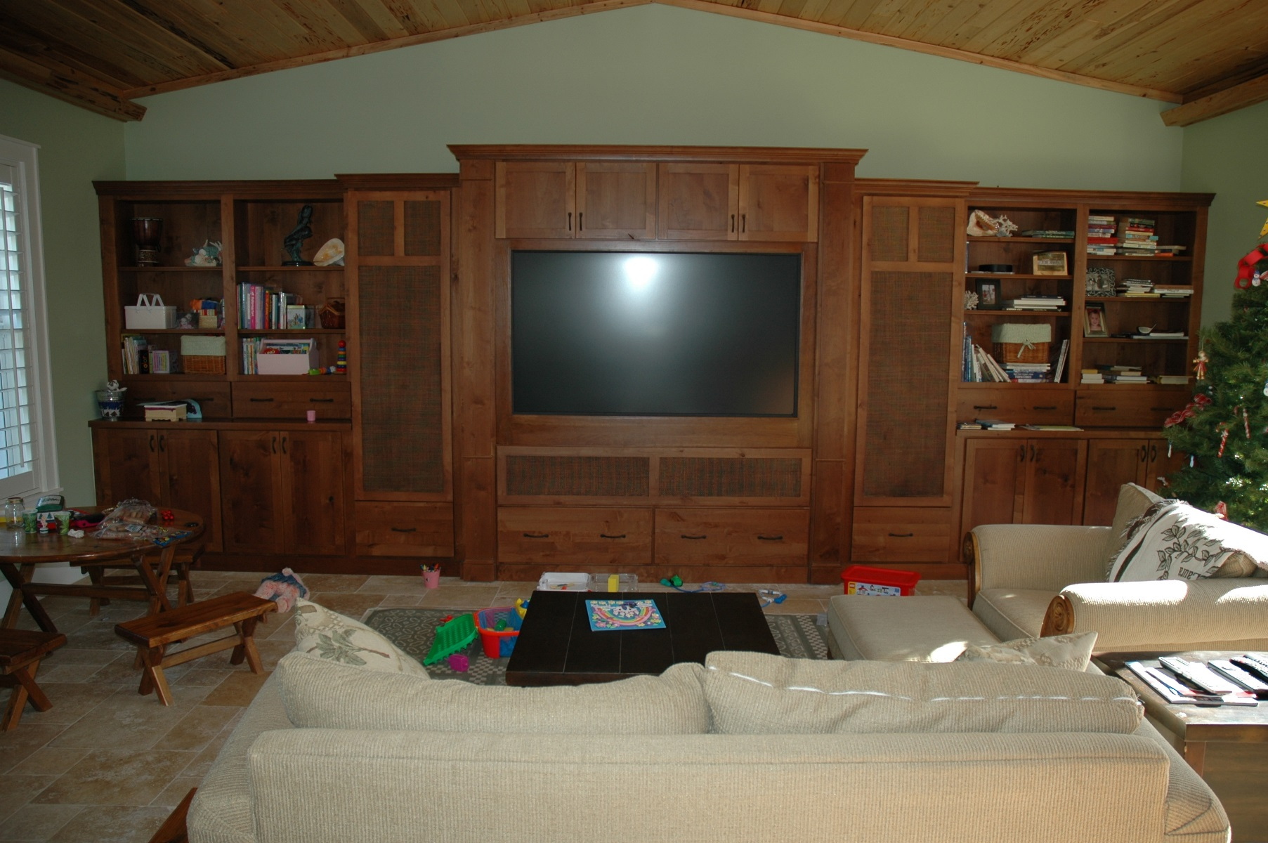 ... The Cabinet Gallery In Stuart, FL Can Design And Install The Custom  Entertainment Center Of ...