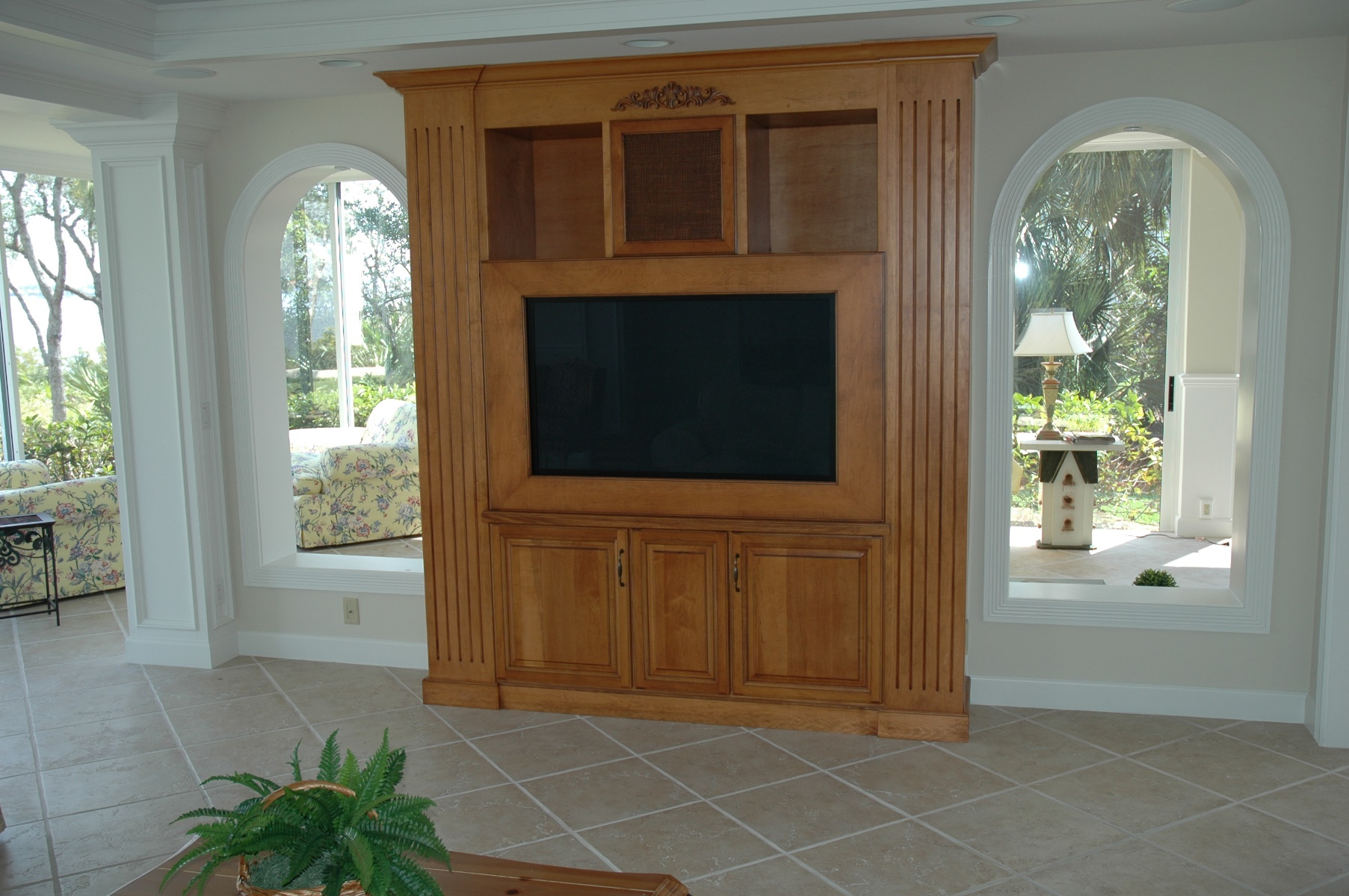 Charmant ... The Cabinet Gallery In Stuart, FL Can Design And Install The Custom  Entertainment Center Of ...