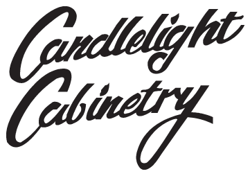 The Cabinet Gallery in Stuart Florida carries Candlelight Cabinetry